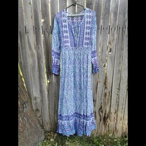 Wild Bella floral maxi dress